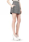 ALEXANDER WANG A-LINE SHORT WITH SEAMED IN POCKET SHORTS Adult 8_n_e