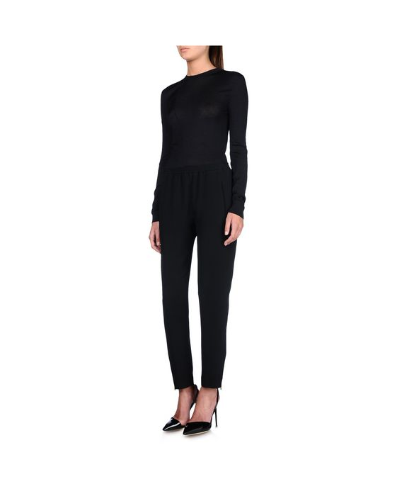 STELLA McCARTNEY Black Tamara Trousers Tailored D g