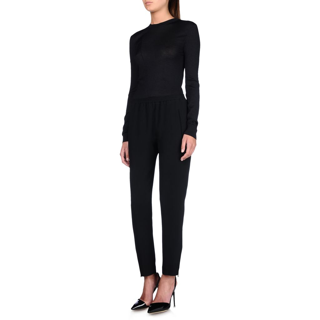 Black Tamara Trousers - STELLA MCCARTNEY