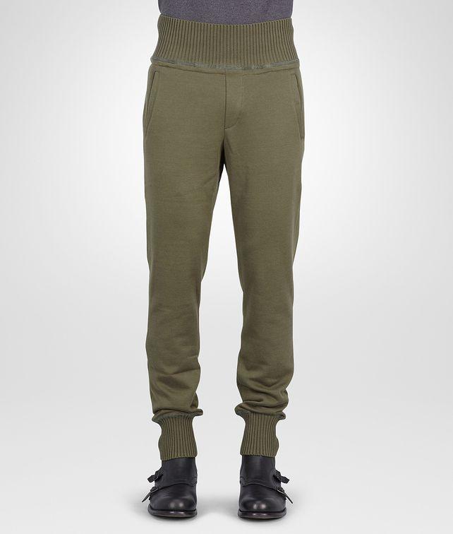 BOTTEGA VENETA Sergeant Organic Cotton Wool Jersey Pant Trouser or jeans U fp