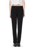 T by ALEXANDER WANG VISCOSE CREPE TRACK PANTS PANTS Adult 8_n_a