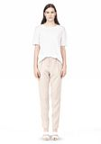 T by ALEXANDER WANG DRAPE SUITING TAPPERED TROUSERS PANTS Adult 8_n_f