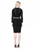 ALEXANDER WANG FITTED CROCHET PENCIL SKIRT SKIRT Adult 8_n_r