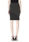 ALEXANDER WANG MIXED PINSTRIPE SKIRT SKIRT Adult 8_n_d