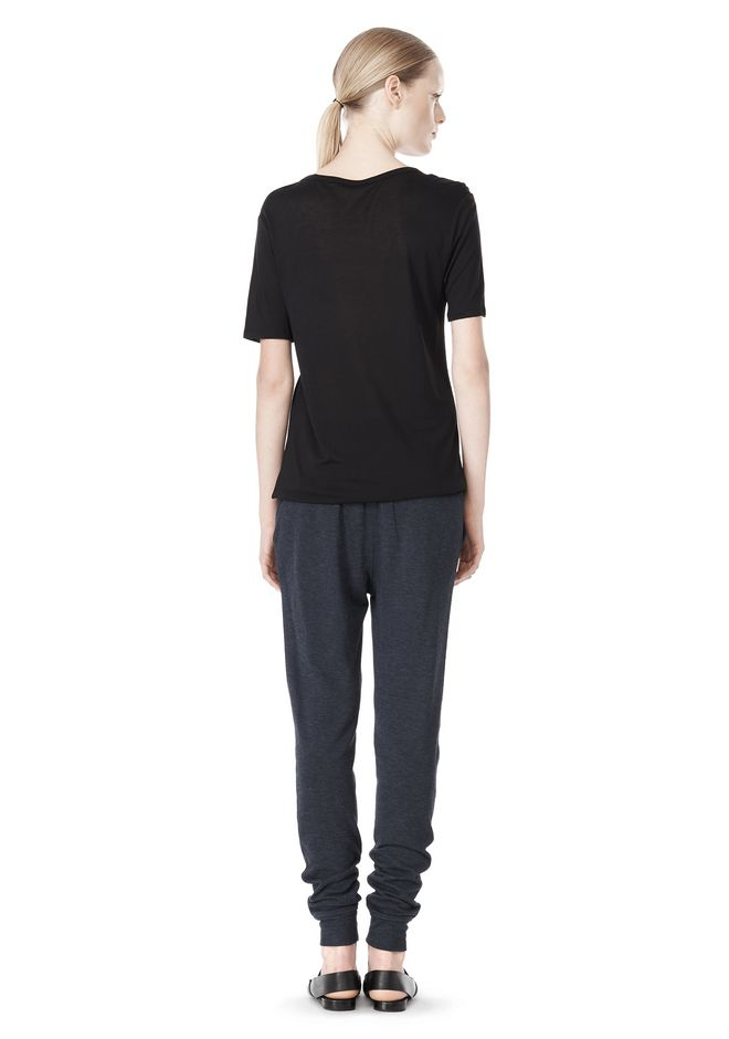 T by ALEXANDER WANG LIGHTWEIGHT FRENCH TERRY SWEATPANTS PANTS Adult 12_n_r