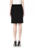 ALEXANDER WANG PENCIL SKIRT WITH LOGO EYELET EMBROIDERY SKIRT Adult 8_n_a