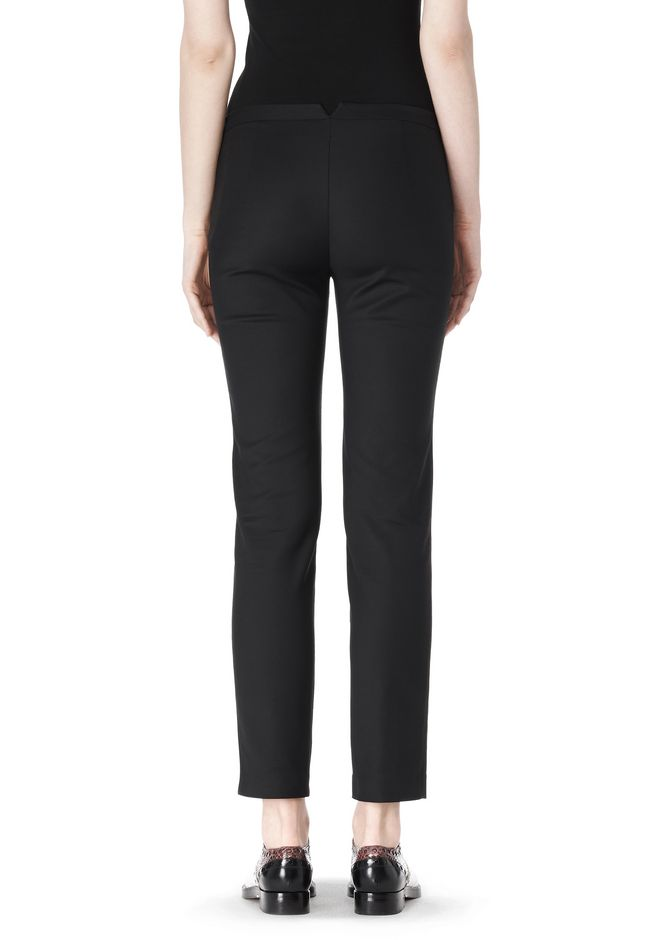 ALEXANDER WANG SKINNY PANT WITH SIDE SEAM DETAIL PANTS Adult 12_n_a