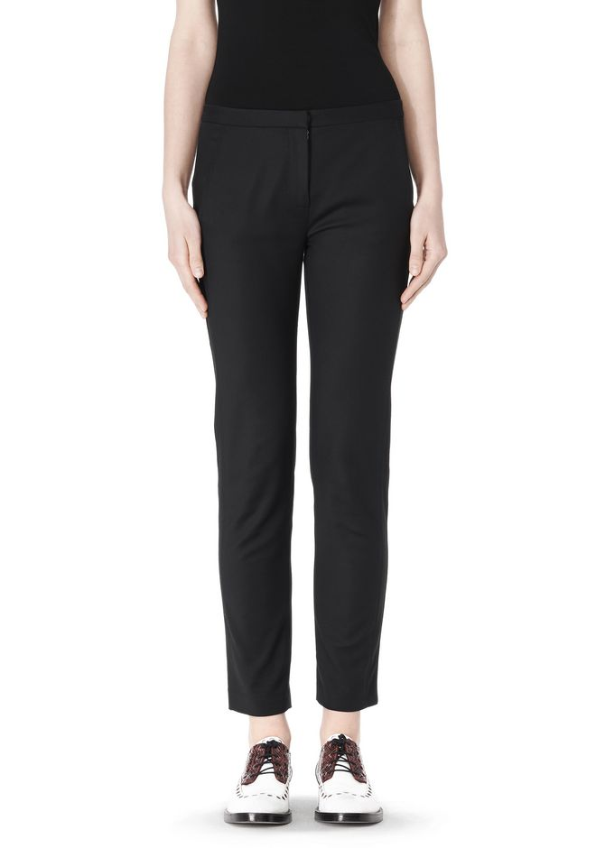 ALEXANDER WANG SKINNY PANT WITH SIDE SEAM DETAIL PANTS Adult 12_n_d