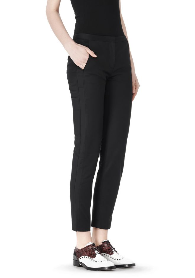 ALEXANDER WANG SKINNY PANT WITH SIDE SEAM DETAIL PANTS Adult 12_n_e