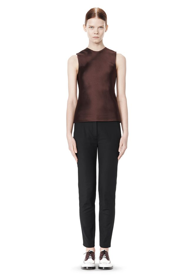 ALEXANDER WANG SKINNY PANT WITH SIDE SEAM DETAIL PANTS Adult 12_n_f