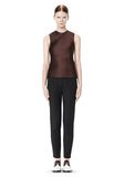 ALEXANDER WANG SKINNY PANT WITH SIDE SEAM DETAIL PANTS Adult 8_n_f