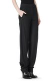 ALEXANDER WANG LOW WAISTED PINSTRIPE PANT PANTS Adult 8_n_e
