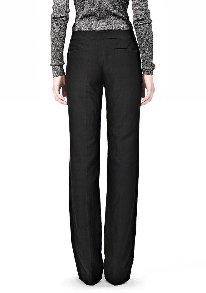 ALEXANDER WANG LOW CUT STRAIGHT LEG TROUSER  PANTS Adult 12_n_a