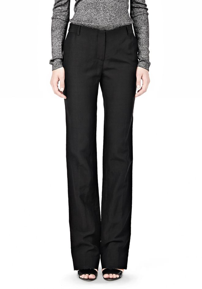 ALEXANDER WANG LOW CUT STRAIGHT LEG TROUSER  PANTS Adult 12_n_d