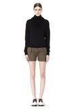 ALEXANDER WANG LOW WAISTED SINGLE PLEAT SHORT SHORTS Adult 8_n_f