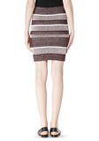 T by ALEXANDER WANG RIB KNIT PENCIL SKIRT SKIRT Adult 8_n_a