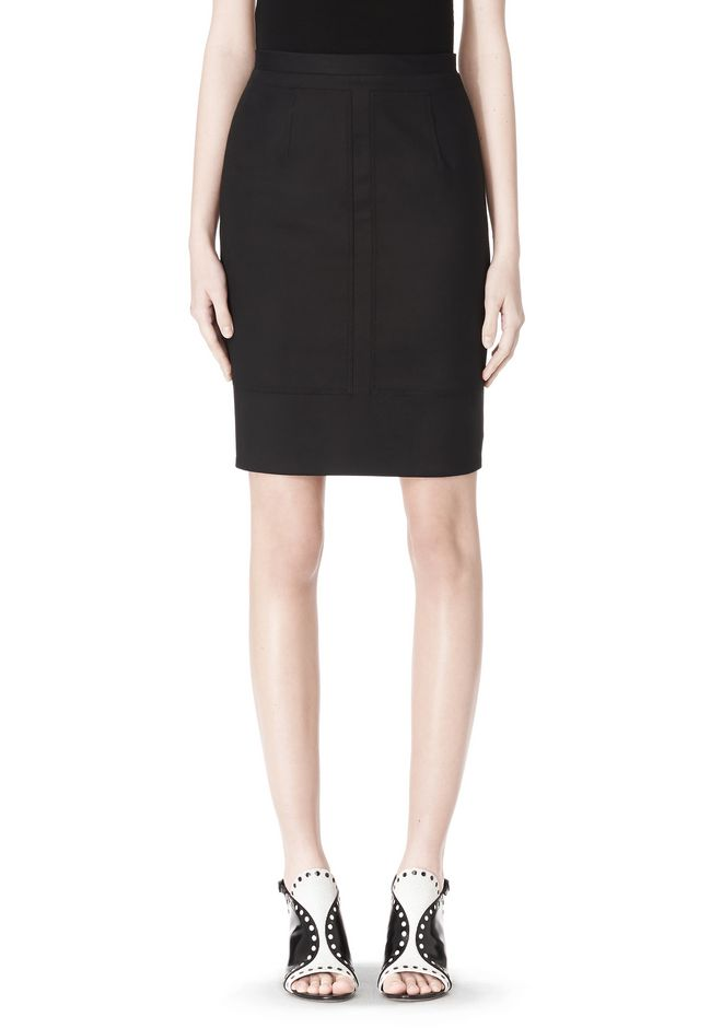 ALEXANDER WANG HIGHWAISTED PENCIL SKIRT  SKIRT Adult 12_n_e