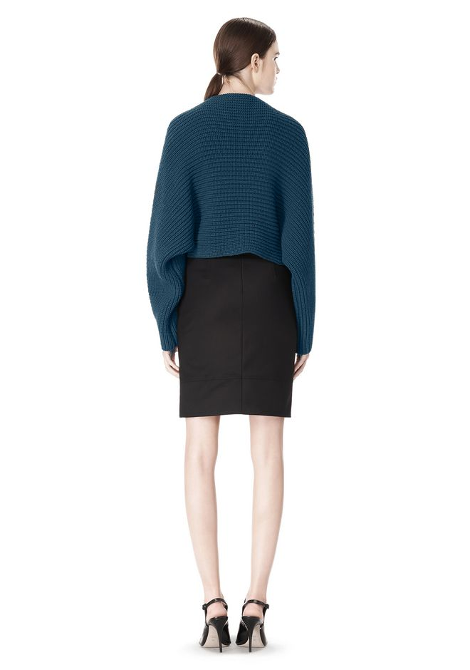 ALEXANDER WANG HIGHWAISTED PENCIL SKIRT  SKIRT Adult 12_n_r