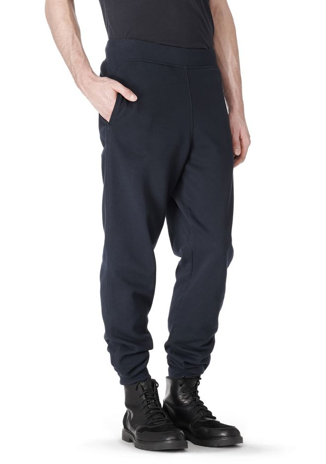 T by ALEXANDER WANG VINTAGE FLEECE SWEATPANTS PANTS Adult 12_n_a