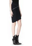 ALEXANDER WANG ZIP PEEL AWAY SKIRT SKIRT Adult 8_n_a