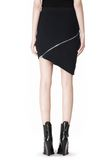 ALEXANDER WANG ZIP PEEL AWAY SKIRT SKIRT Adult 8_n_d