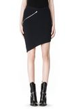 ALEXANDER WANG ZIP PEEL AWAY SKIRT SKIRT Adult 8_n_e