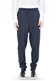 T by ALEXANDER WANG PIQUE DOUBLE KNIT LONG JOHN SWEATPANTS PANTS Adult 8_n_a