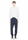 T by ALEXANDER WANG PIQUE DOUBLE KNIT LONG JOHN SWEATPANTS PANTS Adult 8_n_f