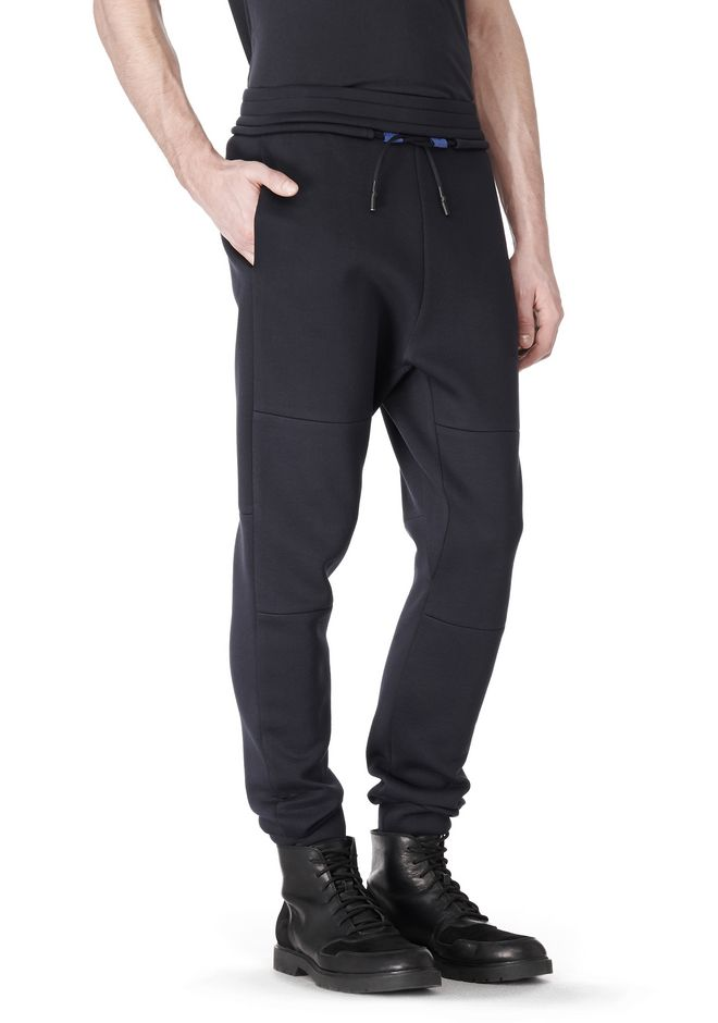 T by ALEXANDER WANG SCUBA DOUBLE KNIT SWEATPANT PANTS Adult 12_n_a