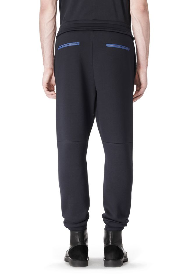 T by ALEXANDER WANG SCUBA DOUBLE KNIT SWEATPANT PANTS Adult 12_n_d