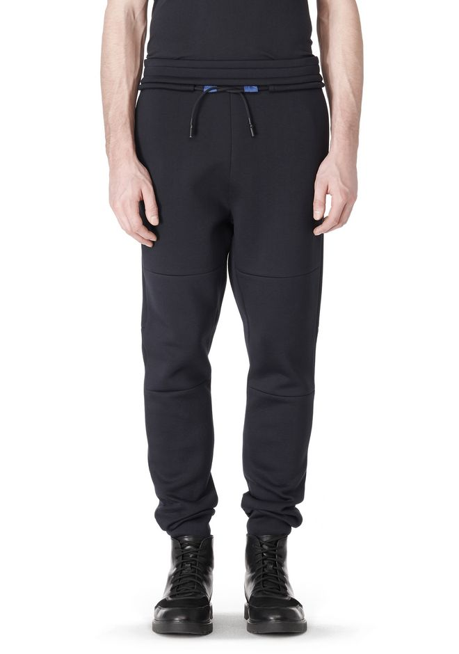 T by ALEXANDER WANG SCUBA DOUBLE KNIT SWEATPANT PANTS Adult 12_n_e