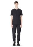 T by ALEXANDER WANG SCUBA DOUBLE KNIT SWEATPANT PANTS Adult 8_n_f