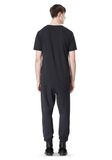 T by ALEXANDER WANG SCUBA DOUBLE KNIT SWEATPANT PANTS Adult 8_n_r