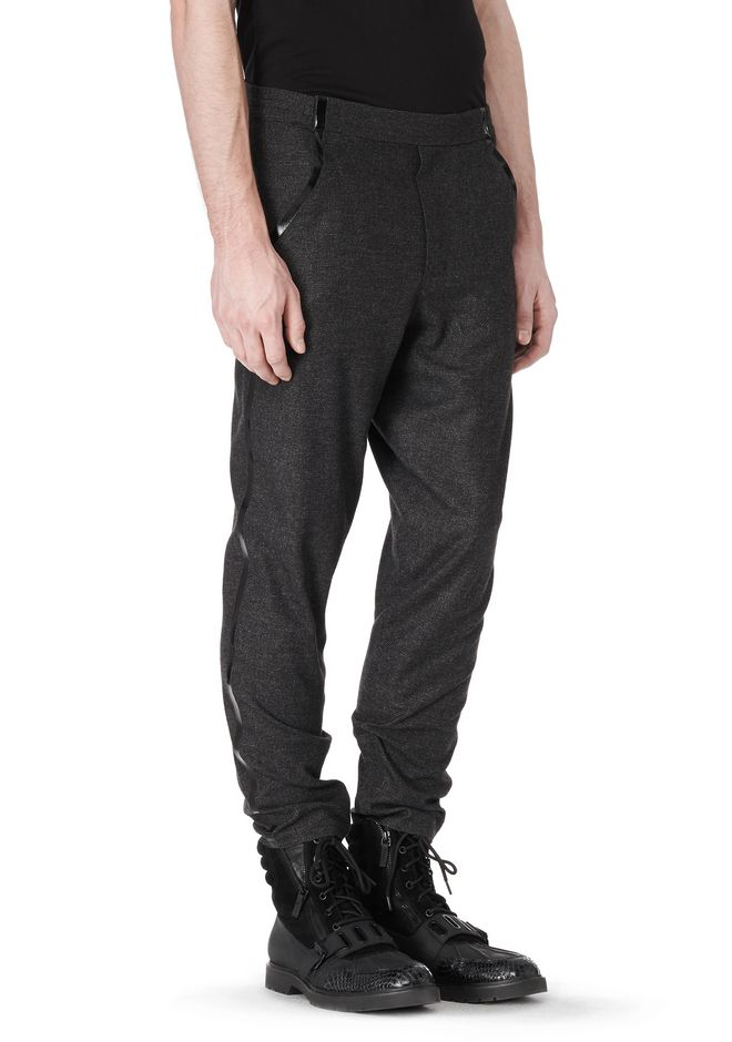 ALEXANDER WANG FRAMISED SEAM TRACK PANT PANTS Adult 12_n_a