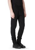 T by ALEXANDER WANG COTTON CANVAS TWILL JEANS WITH LEATHER BACK POCKET PANTS Adult 8_n_a