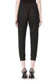 T by ALEXANDER WANG BOUCLE FLEECE TRACK PANT PANTS Adult 8_n_a