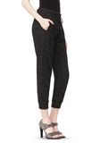 T by ALEXANDER WANG BOUCLE FLEECE TRACK PANT PANTS Adult 8_n_e