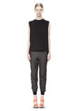 T by ALEXANDER WANG COTTON TWILL FRENCH TERRY SWEATPANTS PANTS Adult 8_n_f
