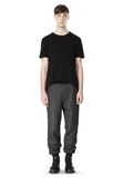 T by ALEXANDER WANG COTTON TWILL KNIT FRENCH TERRY SWEATPANTS PANTS Adult 8_n_f