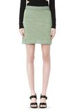 T by ALEXANDER WANG STRETCH RAYON KNIT A-LINE MINI SKIRT SKIRT Adult 8_n_e