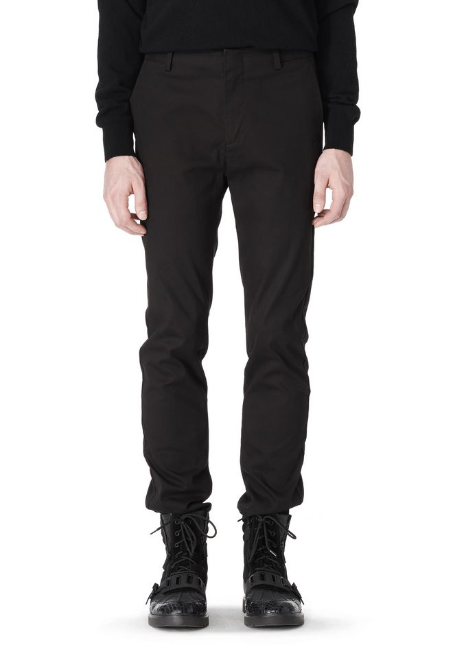 ALEXANDER WANG CLASSIC CHINO PANT WITH WELT POCKET PANTS Adult 12_n_e