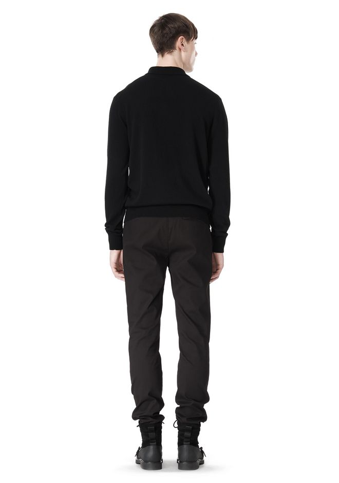 ALEXANDER WANG CLASSIC CHINO PANT WITH WELT POCKET PANTS Adult 12_n_r