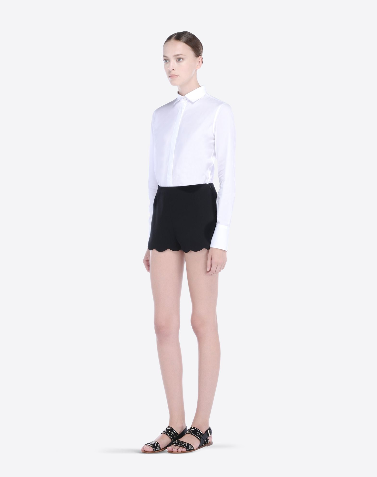 VALENTINO IB3RF0101MM 0NO Skirts and Pants D a