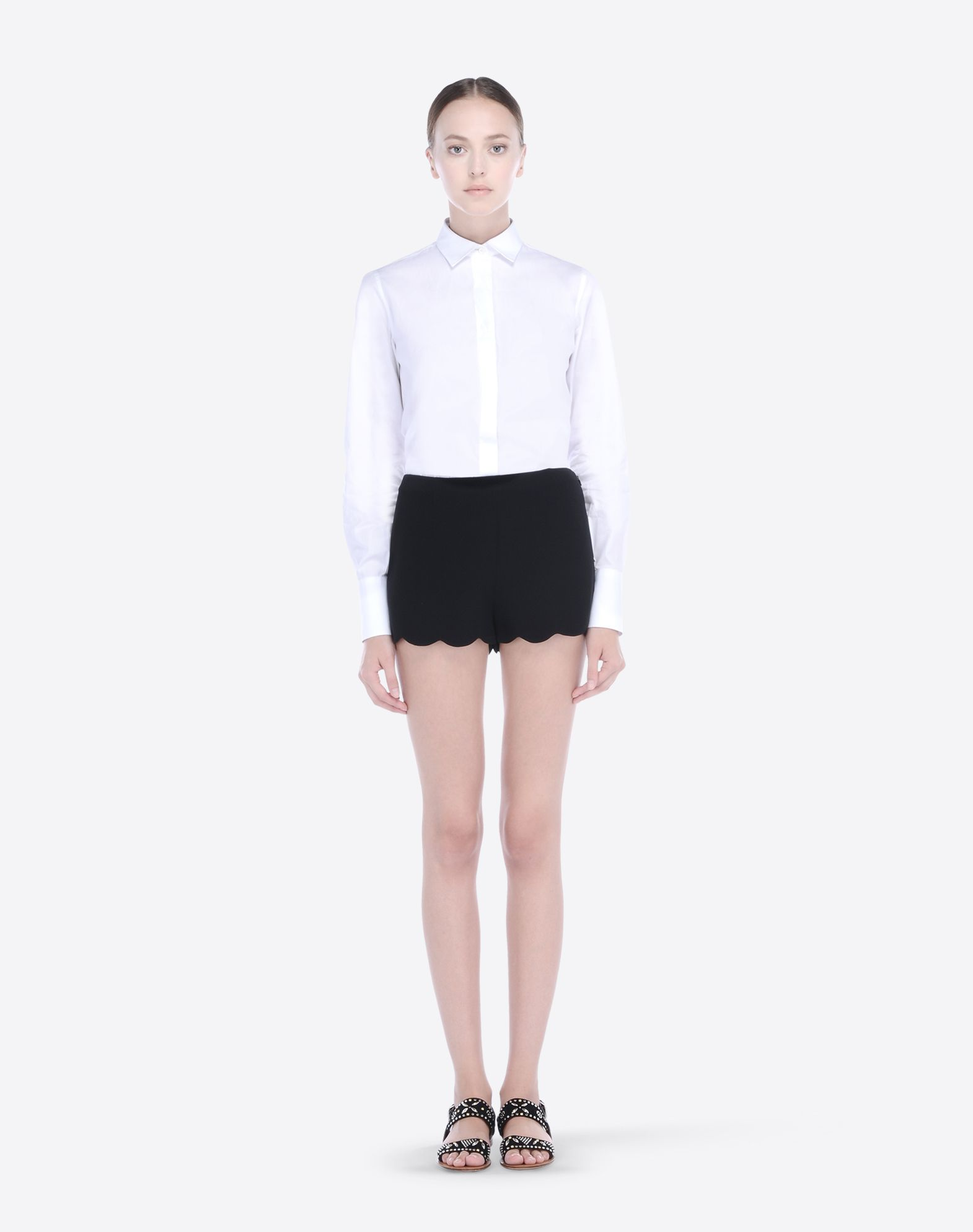 VALENTINO IB3RF0101MM 0NO Skirts and Pants D f