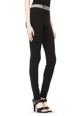LUX PONTE LEGGINGS WITH T WAISTBAND