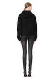 T by ALEXANDER WANG STRETCH LEATHER LEGGINGS WITH STITCH DETAIL PANTS Adult 8_n_r