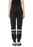 T by ALEXANDER WANG SCUBA SWEATPANTS WITH REFLECTIVE STRIPES PANTS Adult 8_n_a