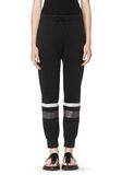 T by ALEXANDER WANG SCUBA SWEATPANTS WITH REFLECTIVE STRIPES PANTS Adult 8_n_d