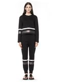 T by ALEXANDER WANG SCUBA SWEATPANTS WITH REFLECTIVE STRIPES PANTS Adult 8_n_f