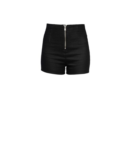 Denim shorts Woman LOVE MOSCHINO